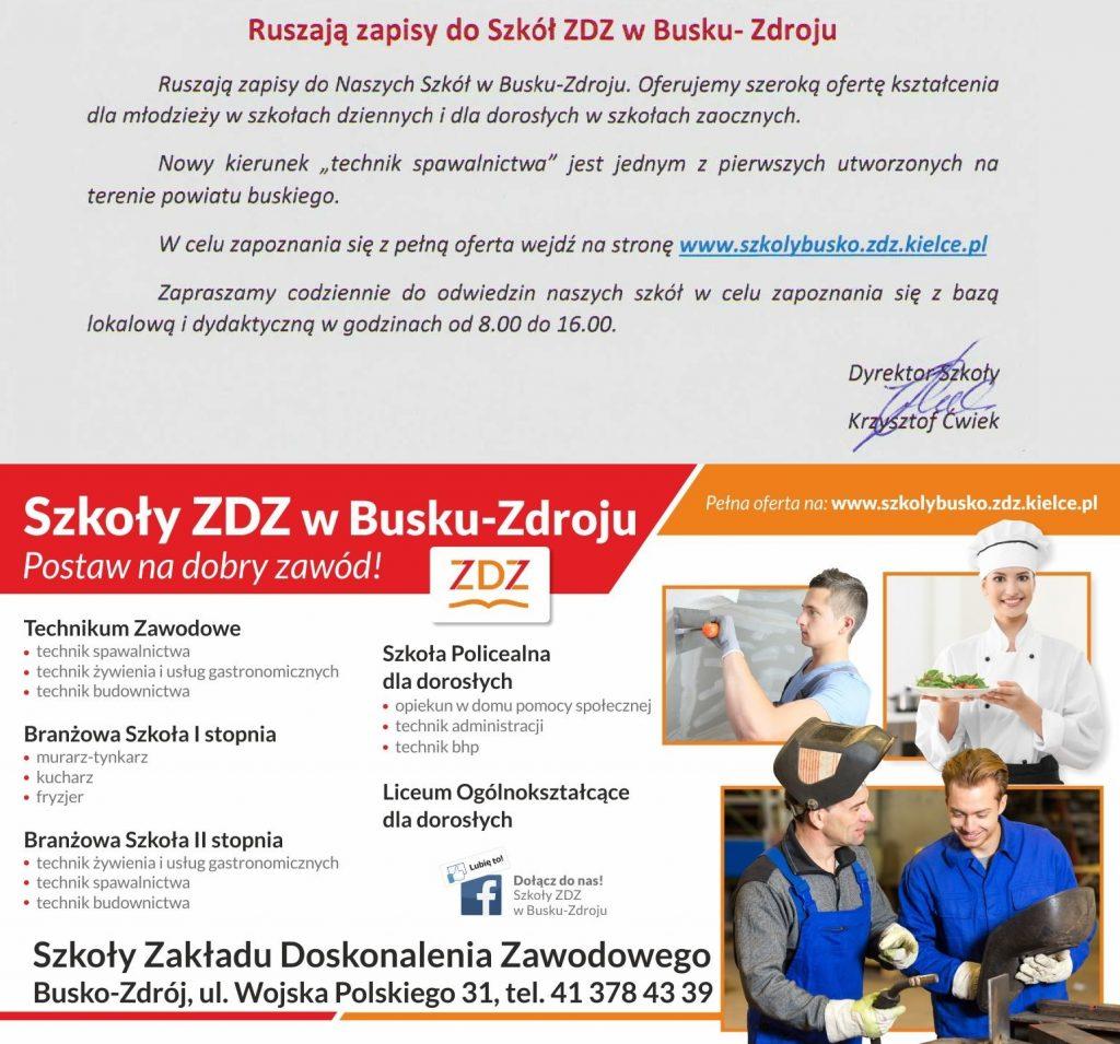 oferta zdz Busko